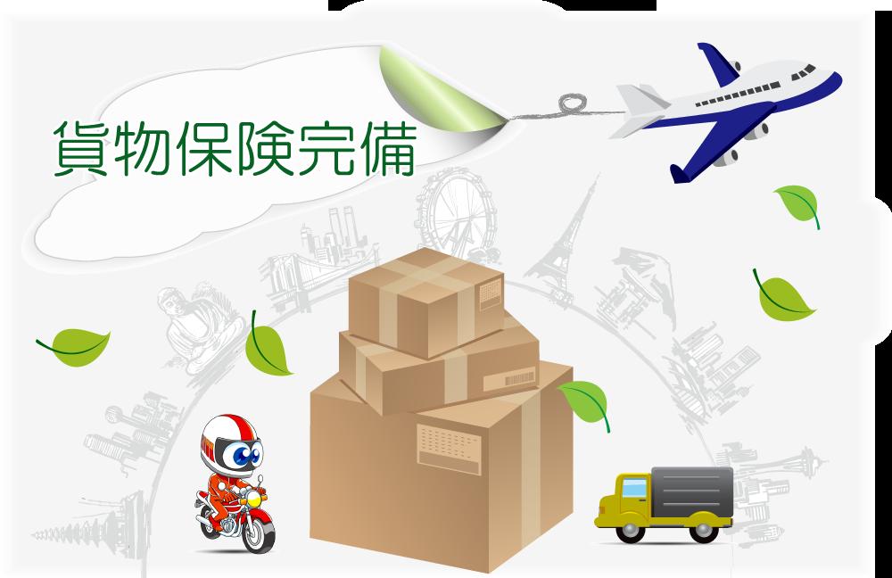 千葉成田バイク便 貨物保険